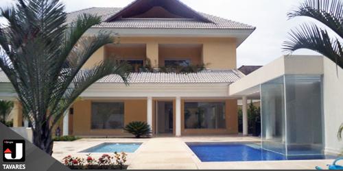 Magnífica mansão na Barra da Tijuca fica no condomínio Núcleo das Mansões