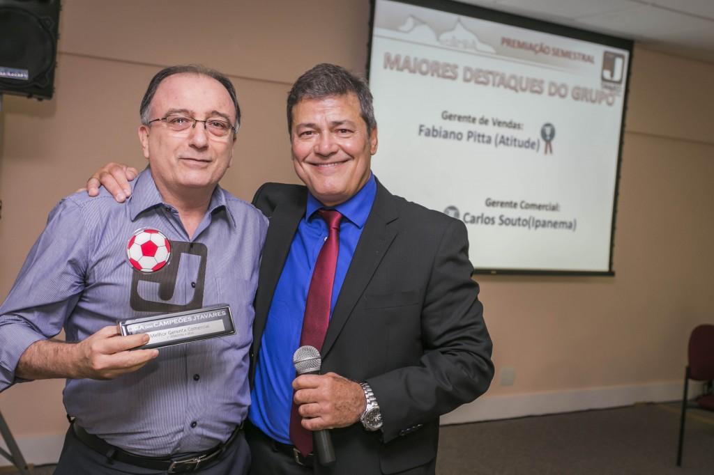 Carlos Souto (Unidade Ipanema): Destaque no 1º Semestre como Melhor Gerente Comercial do Grupo JTavares.