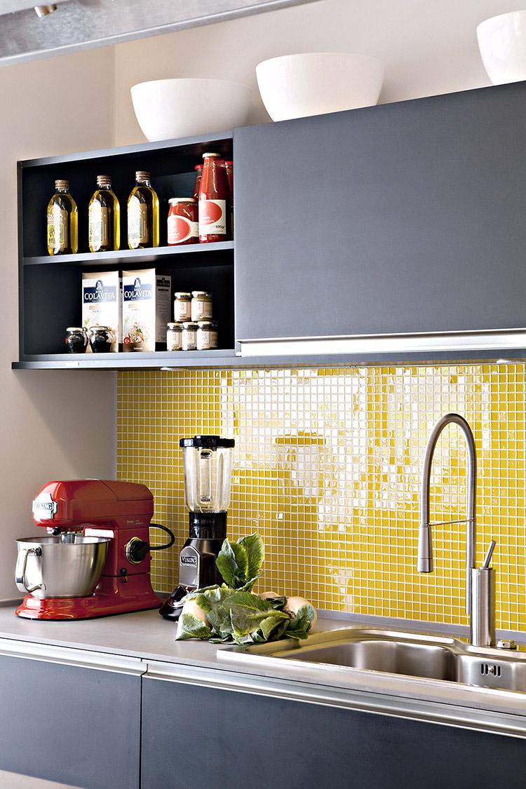 Cozinha Moderna Colorida Cozinha Moderna Preta Colorida Com