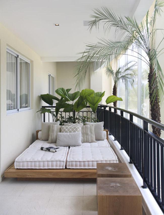 15 sacadas de apartamento que v o te impressionar grupo for Departamentos decoracion moderna