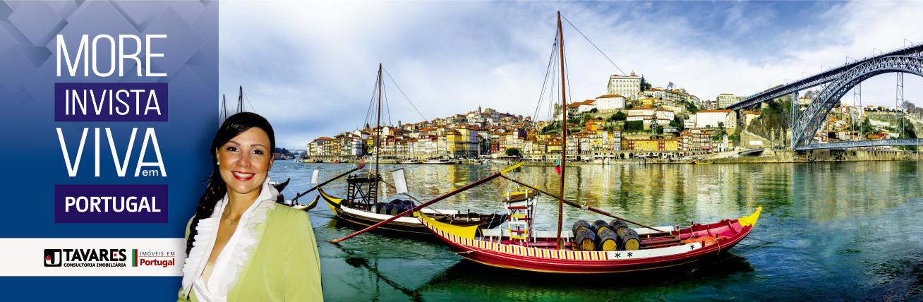 Acessar página com imóveis de Portugal